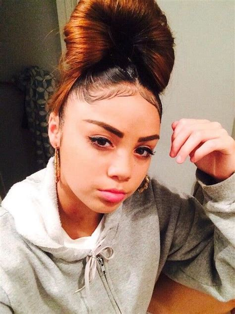 huge bun with baby edges 41 best baby hair laid images on pinterest hair dos