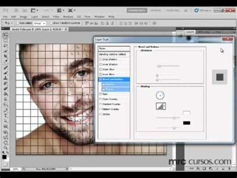 load new pattern in photoshop cs5 photoshop cs5 tutorial efeito explos 227 o no rosto youtube