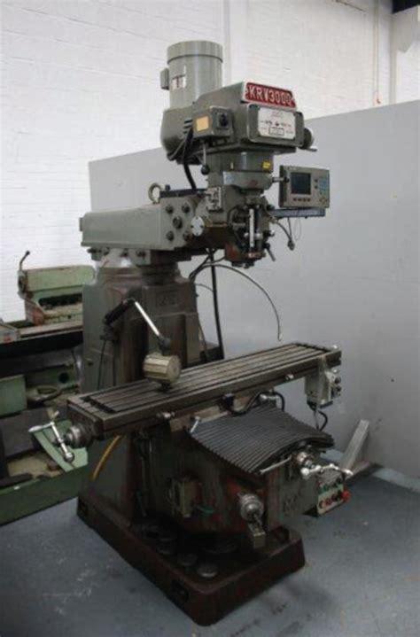 xyz krv  manual turret mill  sale machinery