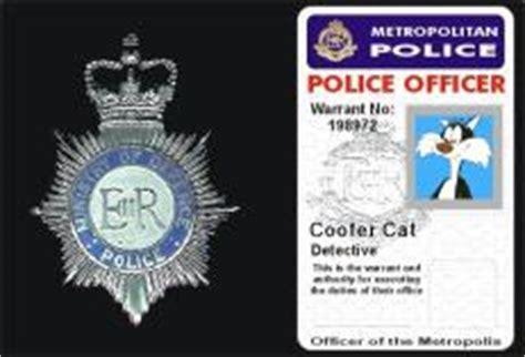 Warrant Card   Coofer Cat's Weblog