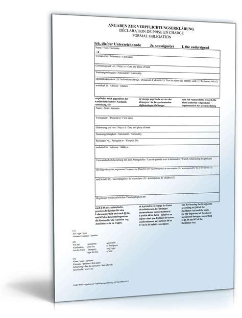 Muster Einladung Vorstellungsgespräch Kostenlos Verpflichtungserkl 228 Rung F 252 R Einladung Visumspflichtiger Ausl 228 Nder