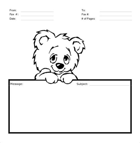 draw so message cards template 8 sle fax cover sheets sle templates