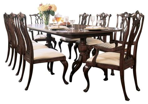 american drew cherry grove dining room set american drew cherry grove 10 piece dining room set in