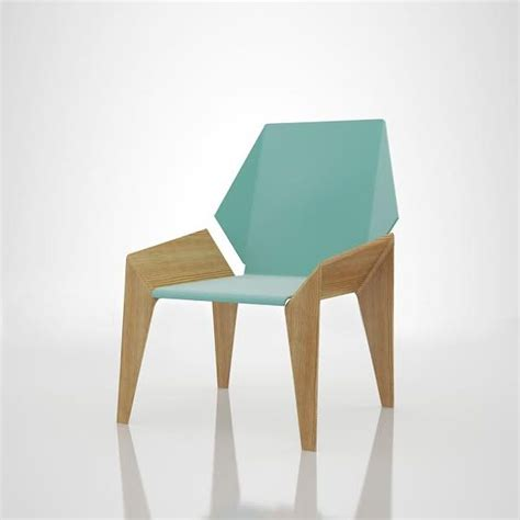 Origami Chair - origami like seated furniture origami chairs