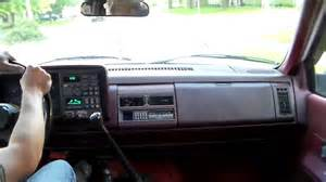 driving the 1993 k1500 5 speed blazer