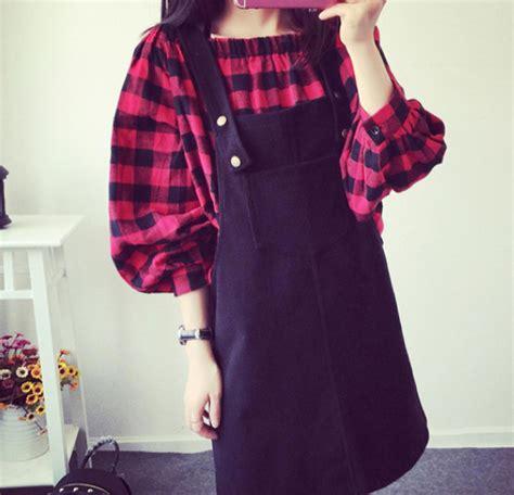 Jumpsuit Pakaian Wanita Ukuran Besar Big Size Bbw094 jual kemeja big size besar vintage atasan wanita