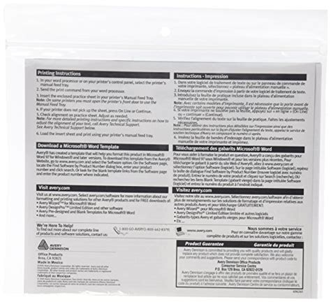 Avery Worksaver Tab Inserts 2 Inches White 100 Inserts 11136 New 072782111366 Ebay Avery Worksaver Tab Inserts 11136 Template
