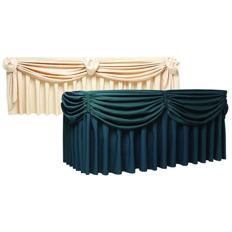 picture suggestion for buffet table skirting designs