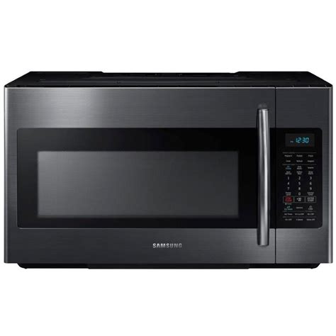 Microwave Samsung samsung me18h704sfg 1 8 cu ft 1000w black stainless