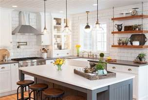 Farmhouse Kitchen Island Ideas 10 Kitchen Remodeling Styles Home Bunch Interior Design Ideas