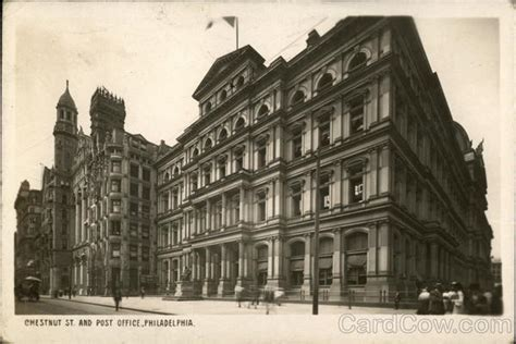 Post Office 19104 by Chestnut And Post Office Philadelphia Pa