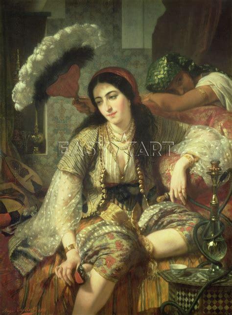 ottoman concubine odalisque quot a or concubine in an ottoman