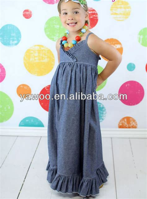 dress pattern for 1 year old simple design baby girl summer dress for girls of 7 years