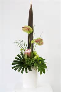 arrangement of flowers stylish modern flower arrangement