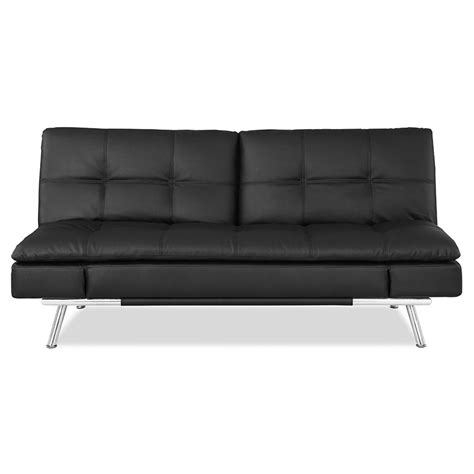 malibu ottoman twin sleeper malibu modern black convertible sleeper sofa eurway