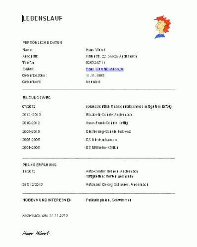 Ausfuhrlicher Lebenslauf Agentur Fur Arbeit agentur f 252 r arbeit lebenslauf muster anschreiben 2018