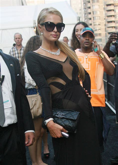 Hiltons Chanel Clutch by The Many Bags Of At New York Fashion Week
