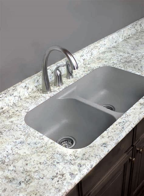 chic stainless steel faucet ba and grey granite bathroom vanity s ideas wooden vinyl laminated undermount sinks counter form