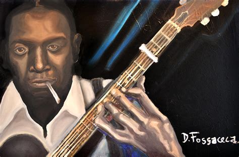 me and the blues me and the blues robert johnson painting by david