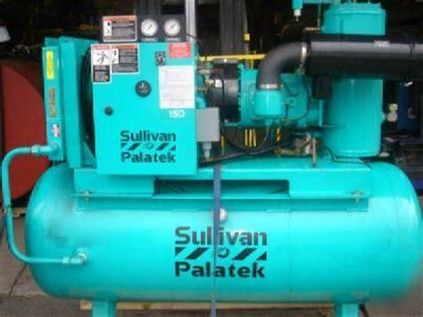 air compressor sullivan palatek 15dr