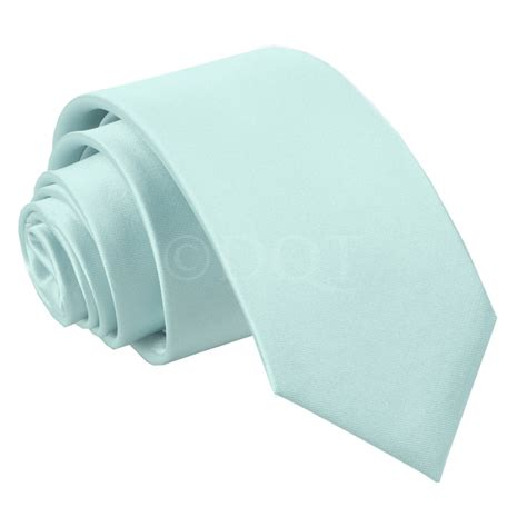 boy s plain baby blue satin tie 8 years