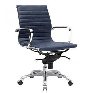 Blue Office Chairs Eaze Office Chair Navy Blue