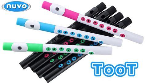 Suling Recorder Warna jual nuvo instrumental toot mini flute black black murah