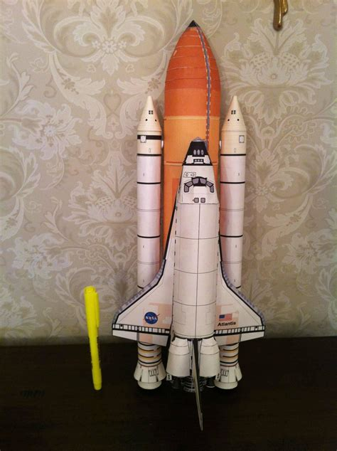 Papercraft Space Shuttle - model rocketry thread the lounge kerbal space program