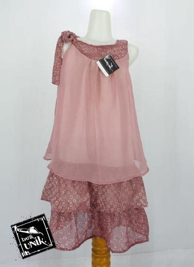 Dress Pesta Anak 021 cbum214m11 baju batik dress pesta anak motif batik etnik d muslimah clothes