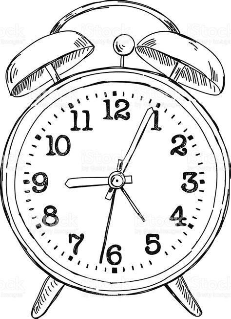 Alarm Vector alarm clock drawing