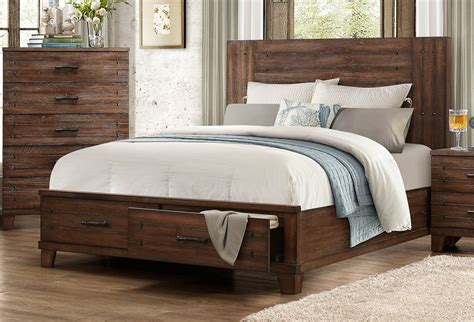 natural wood bed brazoria natural wood king platform storage bed from