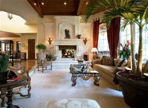 mediterranean home interiors tropical living room design and decoration concepts