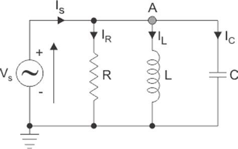 current through inductor in parallel rlc circuit parallel rlc circuit electrical4u