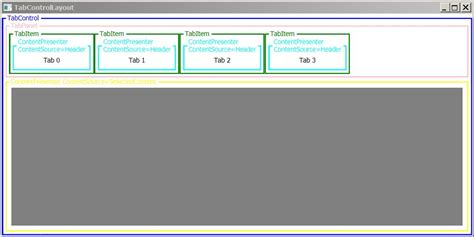 wpf tabcontrol template styling wpf tabcontrol borders codeproject