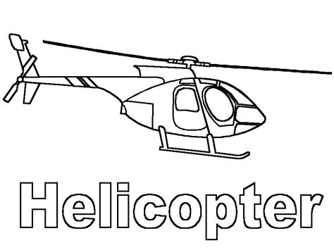 Coloring Page Helicopter Coloring Pages 8 Helicopter Coloring Page