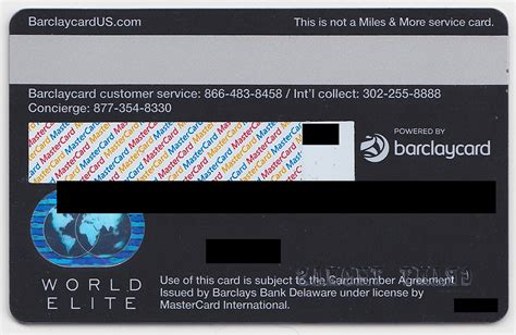 Credit Card Back Side Template Bank Of America Amtrak Alaska Airlines Biz Barclays Lufthansa Credit Card And Info