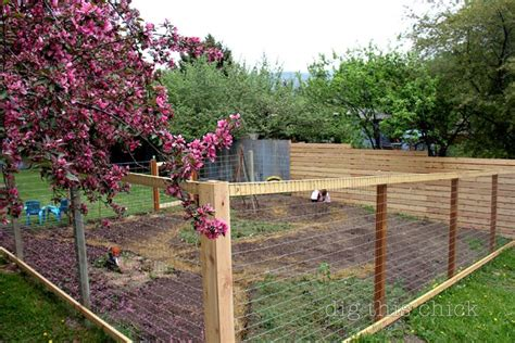 Garden Fence Ideas For Dogs 17 Best Images About Wire Deck Railing On Pinterest Welded Wire Fence 4x4 And Wire Fence