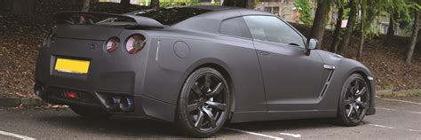 nissan gtr matte black case studies find out more reforma uk car wrapping
