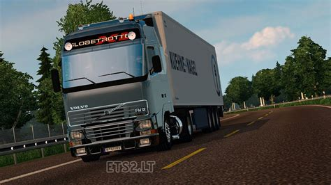 volvo fh12 l6 stock and open pipe sound ets 2 mods