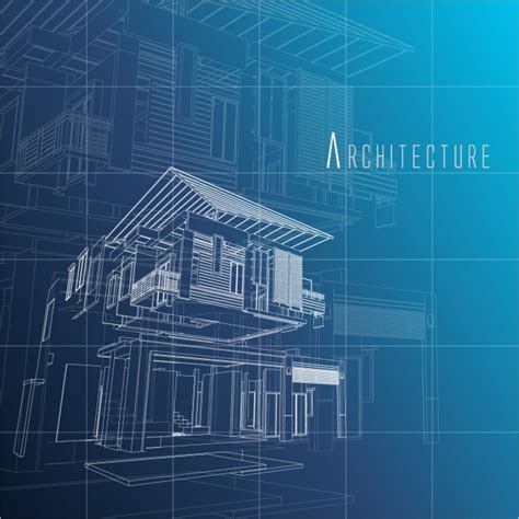 architecture background design vector free