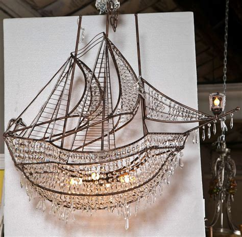Ship Chandelier Decorative Iron And Ship Chandelier At 1stdibs