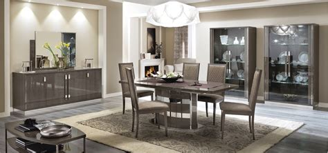 modern dining room sets platinum slim dining modern formal dining sets dining