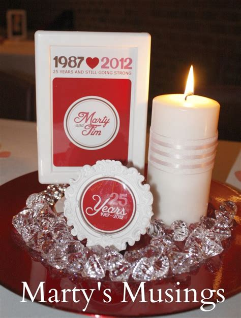 25 year wedding anniversary party decor ideas 25 year wedding anniversary party decor ideas