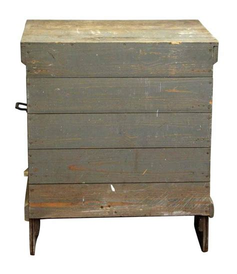 Wooden Tool Drawers by 1920s Antique Wooden Tool Cabinet With Five Drawers For