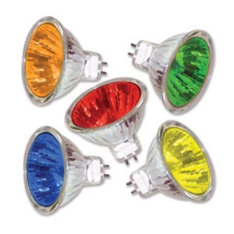 colored landscape light bulbs mr 16 12v 50 watt bulb