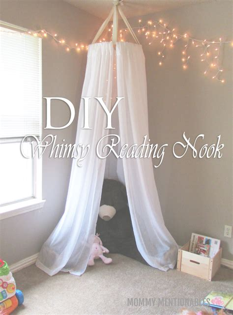 Toddler Playroom Ideas by How To Make A Whimsy Reading Nook For Kids Using Curtains