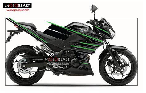 Striping Vixion 3d Warna Ping by Free Premium Decal Striping Kawasaki Z250r