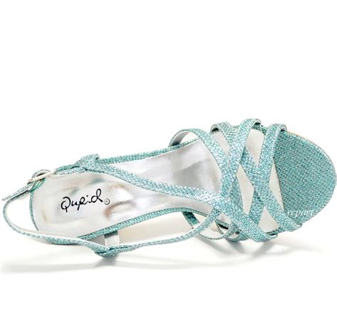 light blue evening shoes light blue shoes open toe evening stilettos blue strappy