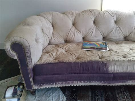 fabric paint sofa reloved rubbish the painted sofa