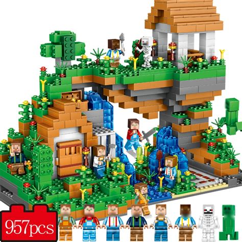 speelgoed lego 957pcs my world hidden water falls compatible legoe